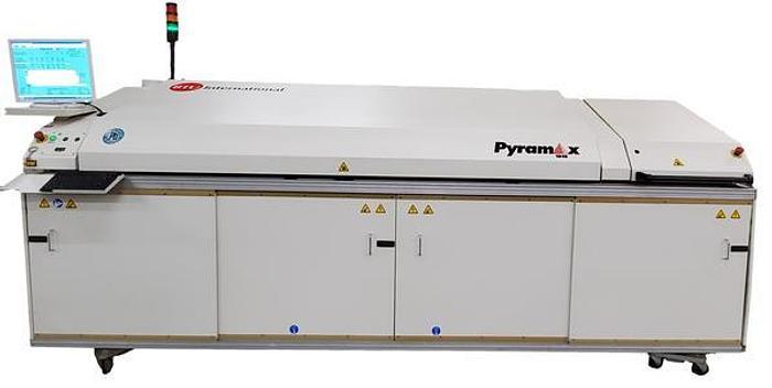 Used BTU Pyramax 98A 7 Zone Lead Free Reflow Oven # CCMA-1