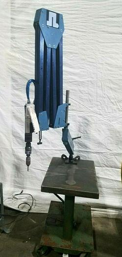 Used S & L Maskin Pneumatic Drill / Screw with Articulating Arm Reduces Fatigue