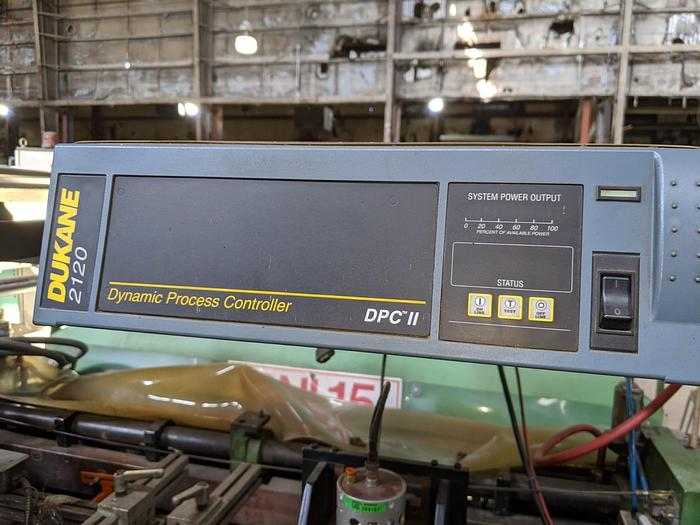 Used Dukane Ultrasonic Unit including Power Supply, Horn and Anvil Assembly, Mounting and Frame Hardware STOCK # 4756-004A