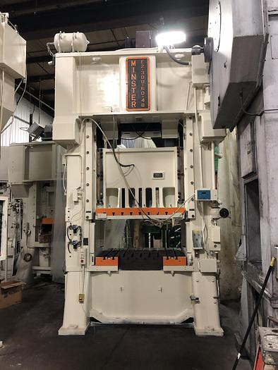 Used 300 TON MINSTER SSDC PRESS
