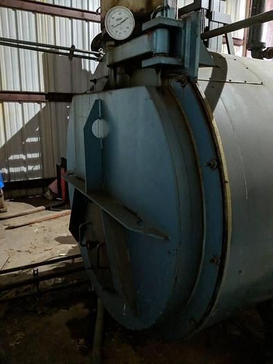 2007 Boiler 80 HP Low Pressure Steam Boiler 4-X-402-S15