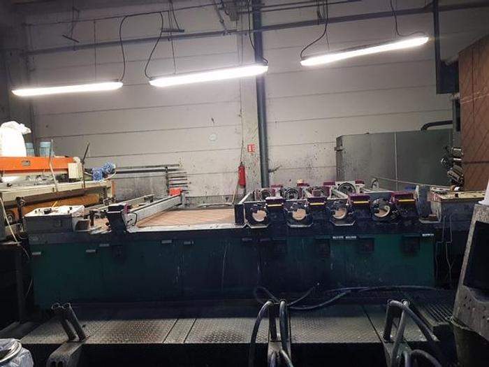 STORK rotary printing flocking machine