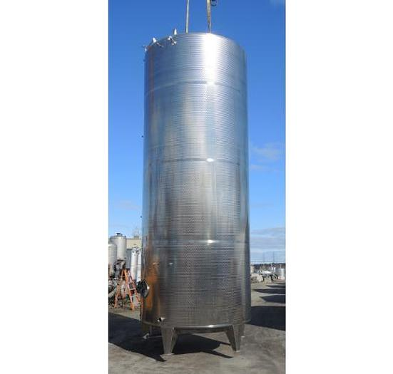 Used USED 5810 GALLON TANK, 316 STAINLESS STEEL, SANITARY