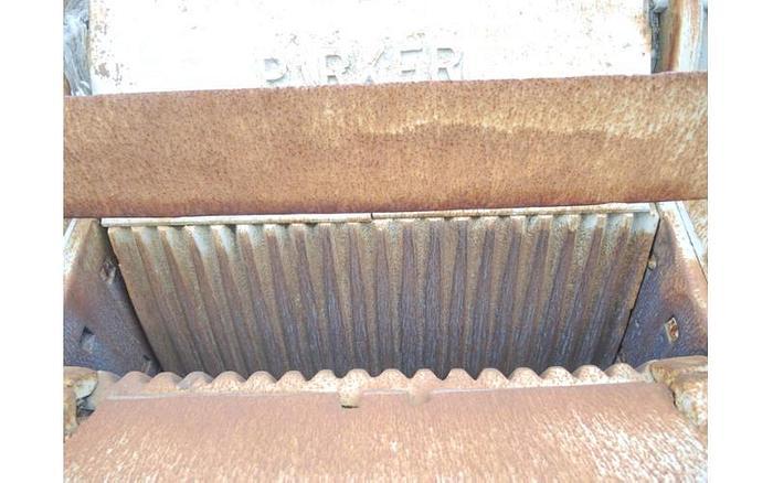 USED JAW CRUSHER, 10'' X 36''