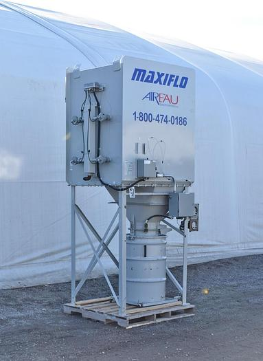 Used USED CARTRIDGE DUST COLLECTOR WITH EXPLOSION VENT, PULSE AIR, 520 SQ.FT.
