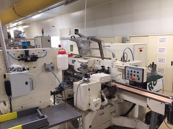 Used chocolate bar moulding line