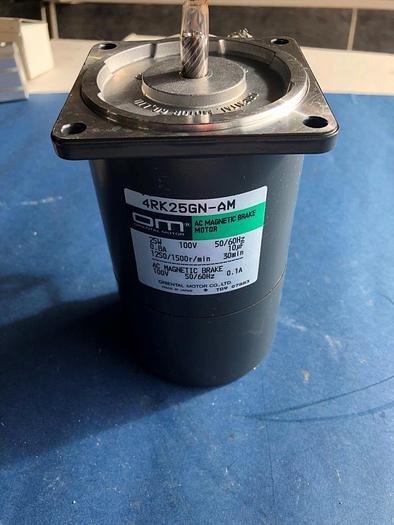 Used oriental motors 4RK25GN-AM AC brake motor