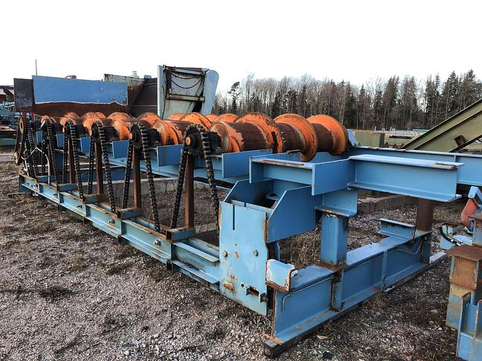 Used Interlog log conveyor