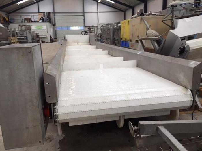 White Offal belt Conveyor
