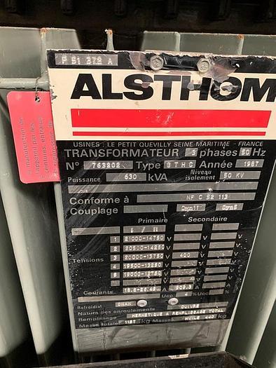 Used 1987 Alsthom KVA: 630