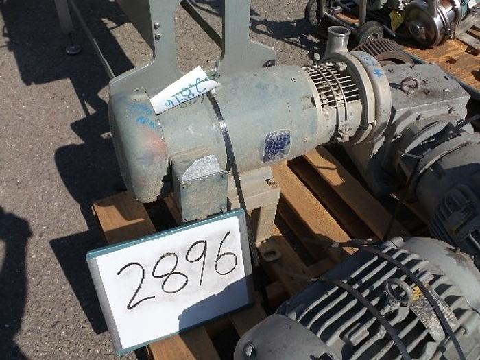 Used C328-MES Tri-Clover 4'' x 2'' Centrifugal Pump #2896