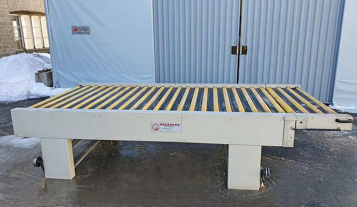 Used 2000 Giardina Roller transport Giardina 3500 mm