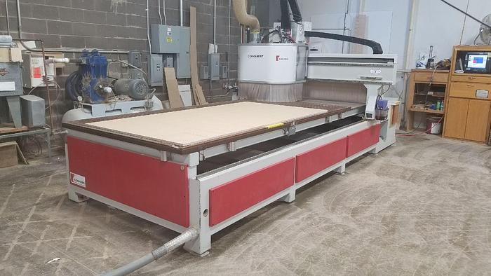 HOLZ-HER COSMEC CONQUEST 510 CNC ROUTER 5′ X 10′