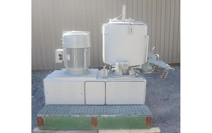 USED HIGH INTENSITY MIXER, 125 LITER CAPACITY