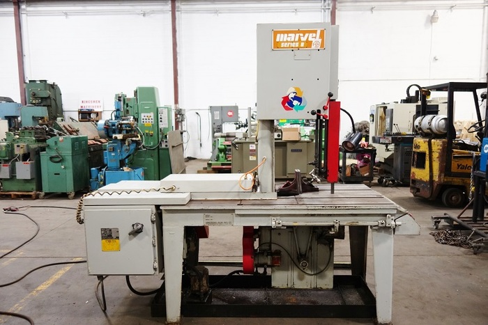 Marvel Series 8 Vertical Tilt Frame Band Saw