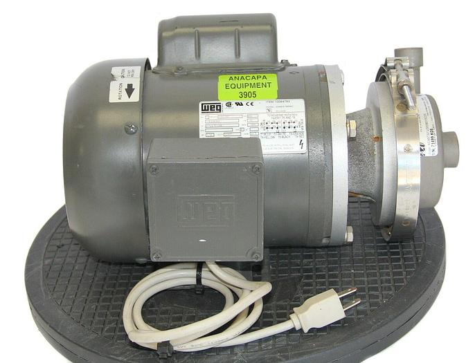 Used Finish Thompson AC4STS1V300B015C05 Centrifugal Pump W/Meg 3336ES1BB56CMotor 3905