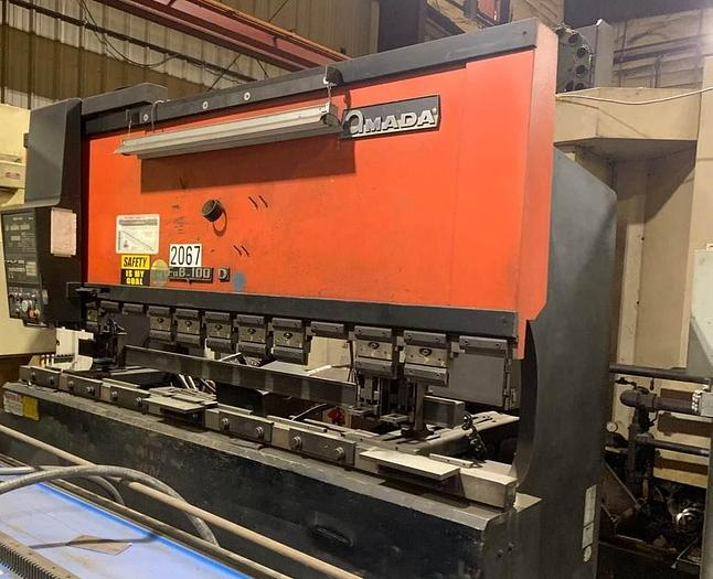 Used 1989 110 Ton Amada FBD-1030 CNC Press Brake