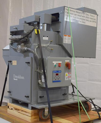 Used used Donaldson Torit TD3-54 SEP-300 dust fume collector, used fume collector