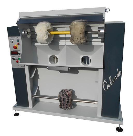 SPAZZOLATRICE SUOLE / SOLES BRUSHING MACHINE MC49