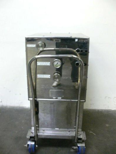 Used Millipore 90L Hydraulic Column Packing Skid 56584-SD