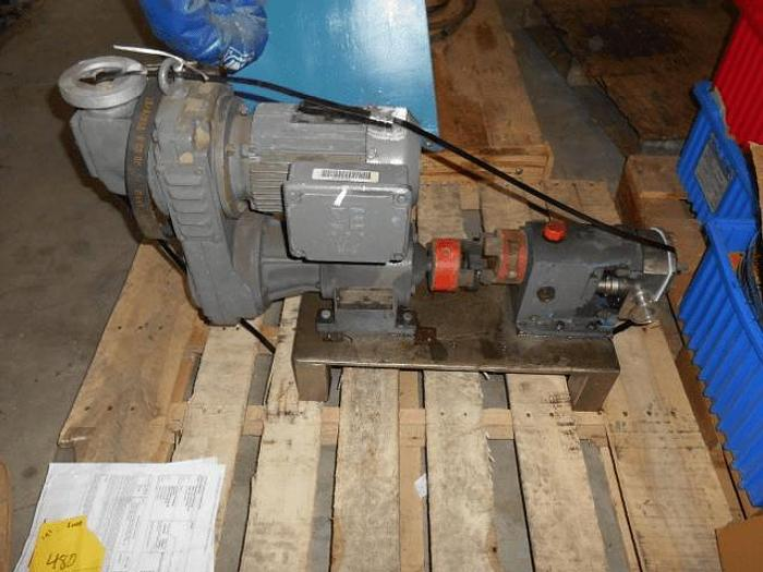 Used 2 GH PRODUCTS SANITARY POSITIVE DISPLACEMENT PUMP – S/S – VARIABLE SPEED