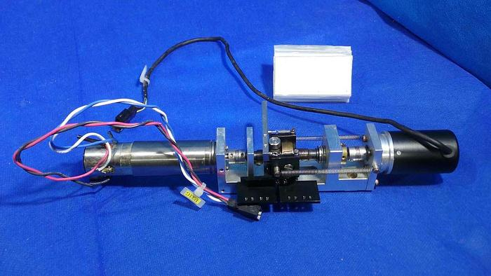 Used Nikon 1000-22-1 Wafer Stage Axis Motors/ 2 Motors, Rotaryencoder RMh 1000-22-1 amd Minimotor 22/2K 54,6:1 / on Mount and Frame With Brackets / For Nikon NSR-S204B