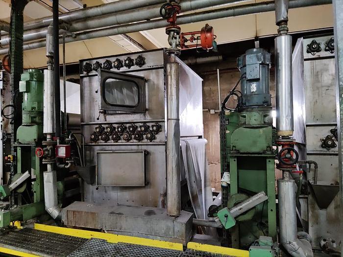 Used KUSTERS Washing boxes  1985  1600 mm