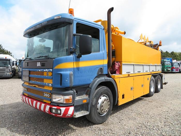 Used 1997 Scania 124/360 6x2 12.000 l. Hvidtved Larsen