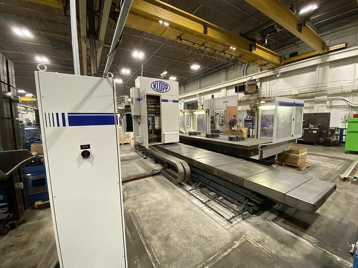 2008 KLOPP MODEL UFS 1000 CNC FLOOR TYPE UNIVERSAL MILLING MACHINE