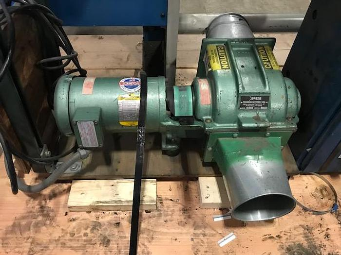 Used PRECISION CUTTERS MODEL 78FP TRIM BLOWER  1 HP