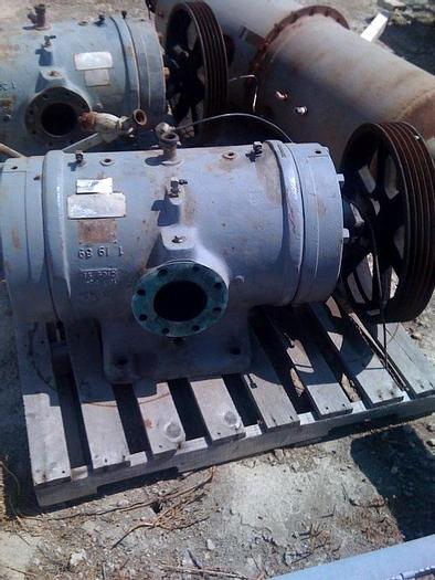 Used Rotary Compressor Fuller CC120