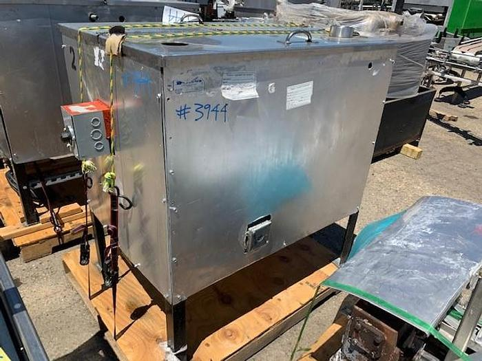 Used 2 Compartment Stainless Steel Jacketed & Insulated Heated Coating Tank