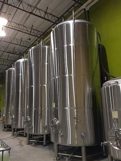 BSV 150 bbl Jacketed Brite Tanks