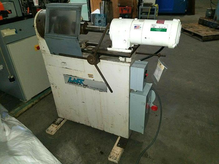 Used LNS America Honing Shaping Lathe with 3 Jaw Chuck