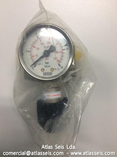 Air Liquide Pressure Regulator DCn 300/3 / 50 Bar / 350 Nm3/h