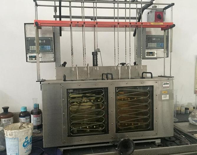 Used LABORATORY EQUIPMENT : SAMPLE DYEING AHIBA