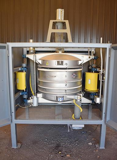 Used USED GREAT WESTERN TB QA/36-3 IN-LINE GYROSCOPIC PRESSURE SIFTER
