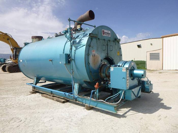 1992 SUPERIOR Boiler 15 PSI Skid Mounted Low Pressure Boiler