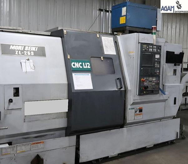 Used Mori Seiki ZL253 CNC TurnMill Center