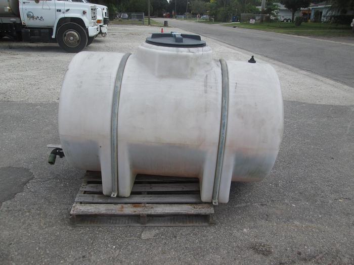 Used 300 Gallon Poly Tank