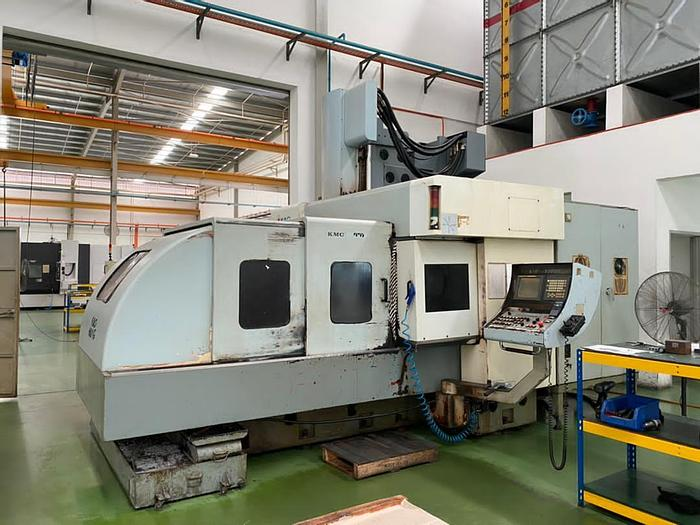 Used 2006 KAO MING KMC-1800-DV DOUBLE COLUMN MILLING MACHINE CENTER