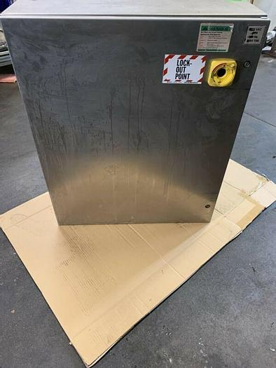 """Used HOFFMAN CSD363012SS stainless steel , 36"""" H x  30"""" W x 12"""" D HAVE 2 TO SELL"""
