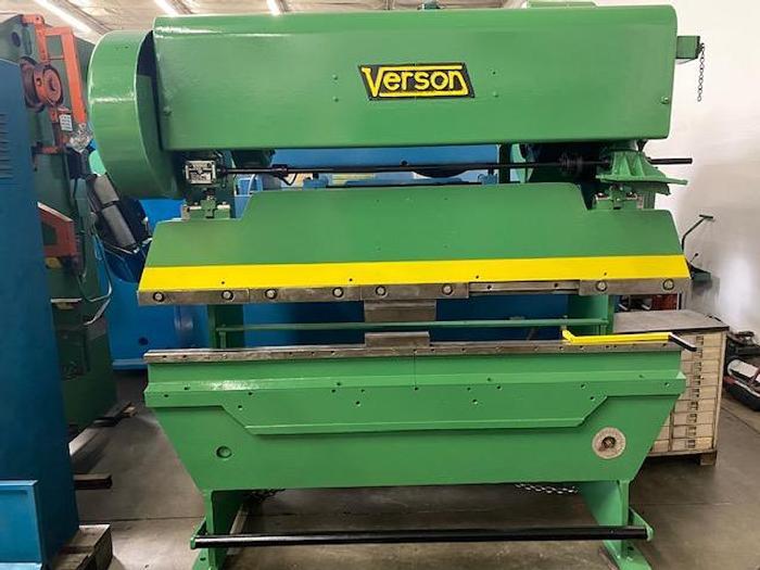 "Used Verson 25 Ton x 78"" Mechanical Press Brake"