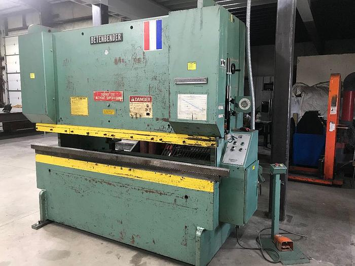 Used Betenbender Mechanical Press Brake 8′ 120 Ton