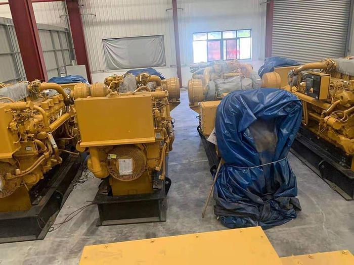 Caterpillar 3512C New generator sets Mfg year 2017