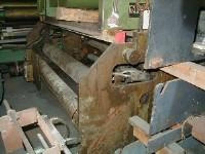 """Used 84"""" Gloucester primary nip with one side treater station."""