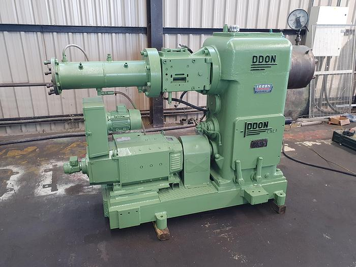 Used Iddon 60mm coldfeed rubber extruder