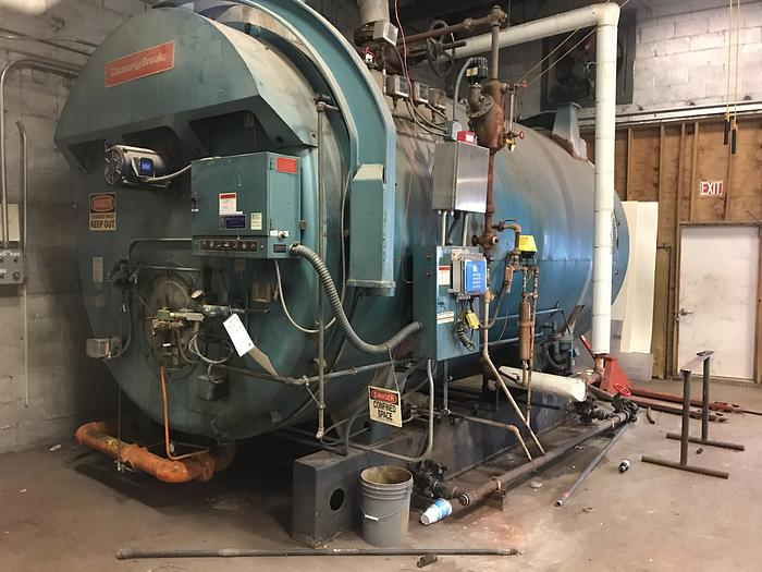 1984 Cleaver Brooks CB200-400 200 PSI  Steam Boiler  CB200-400