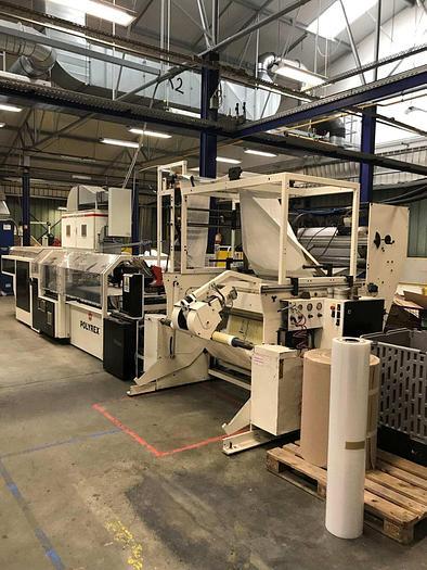 1999 WINDMÖLLER & HÖLSCHER (W&H) POLYREX SF 3708 - Welding film bag making machine (LOOP HANDLES - STT – Punch)