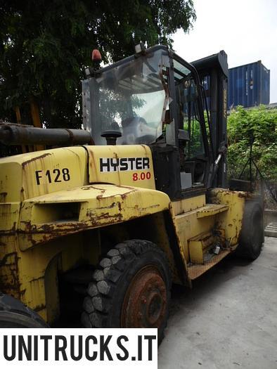Usata 2003 HYSTER H 8.00 XM